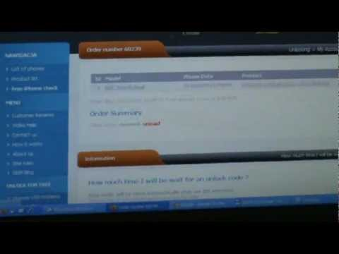 How to unlock HTC Touch dual whit sim-unlock.net
