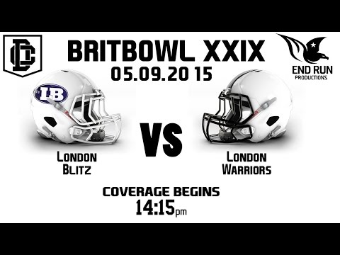 BRITBOWL XXIX - 05.09.2015 London Blitz Vs. London