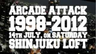 ARCADEATTACK2012 #aa2012 予告編