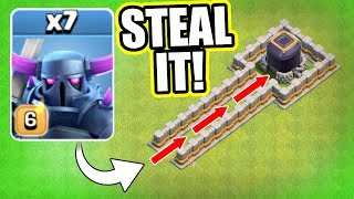 NEW CRAZY METHOD TO STEAL DARK ELIXIR FAST! THIS ACTUALLY WORKS!! - Clash Of Clans