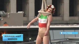Femen-ის აქცია -