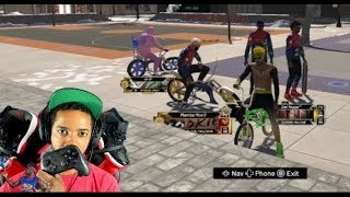 NBA 2K20 Nintendo Switch Park Gameplay
