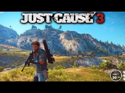 JUST CAUSE 3 GAMEPLAY - (Just Cause 3 Free Roam Gameplay) 1080p 60fps