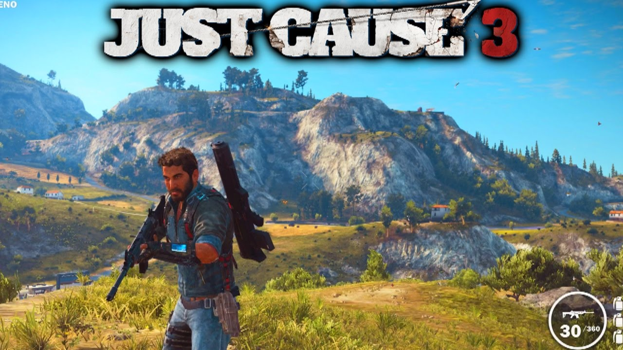 VIKKSTAR123 - JUST CAUSE 3 GAMEPLAY - (Just Cause 3 Free Roam Gameplay) 1080p 60fps