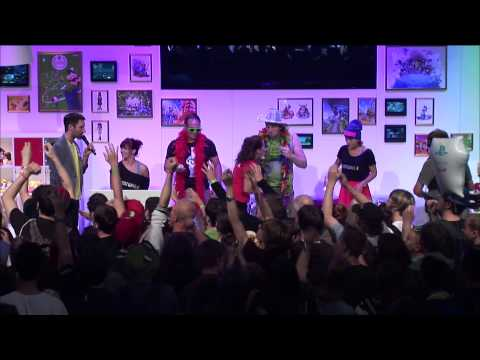 Die Nintendo Hausparty | Gamescom 2013 | Just Dance 2014 & Wii Karaoke U