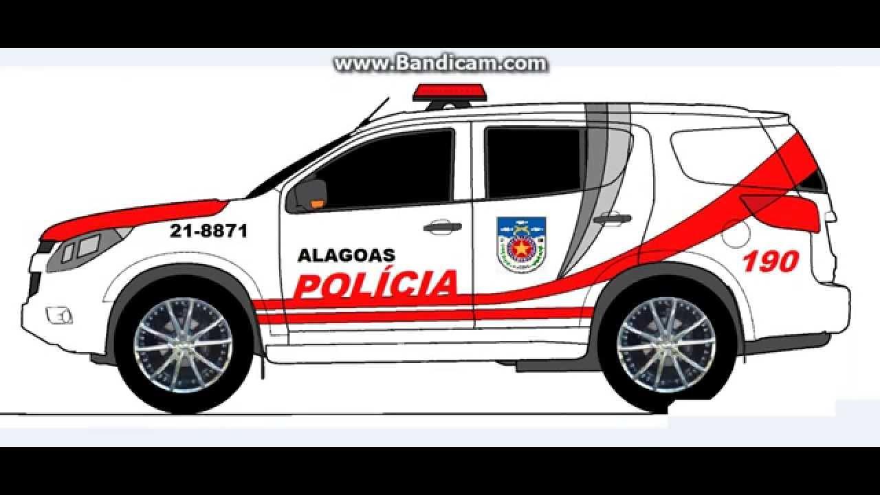 Desenhos De Viaturas Da Policia Militar De Alagoas Super Legal