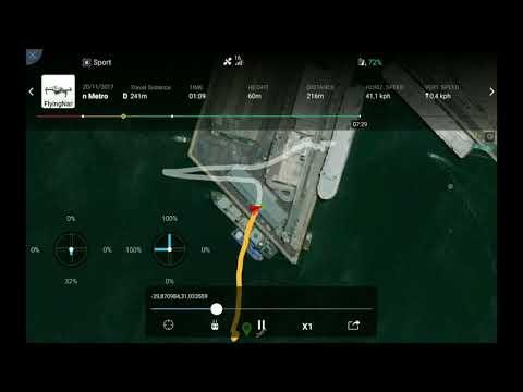 Durban Water Landing Flight Record