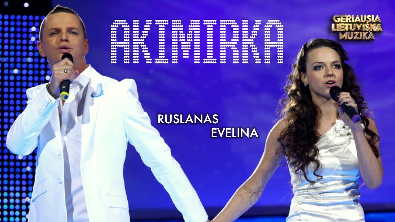 Ruslanas ir Evelina – Akimirka (Official Lyric Video). Lietuviškos Dainos