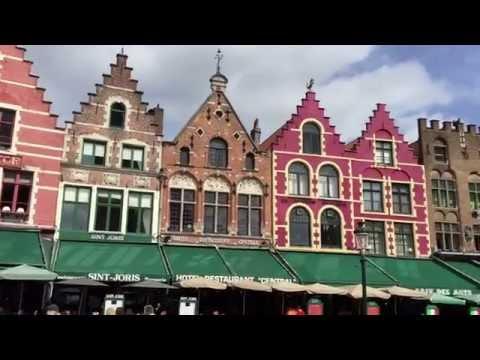 Bruges, Belgium Travel Video  Grand Place.