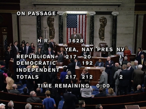 GOP Health Care Bill Passes House
