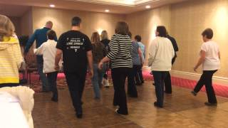 He Ain't Gonna Change - beginner country line dance by Mark Cosenza