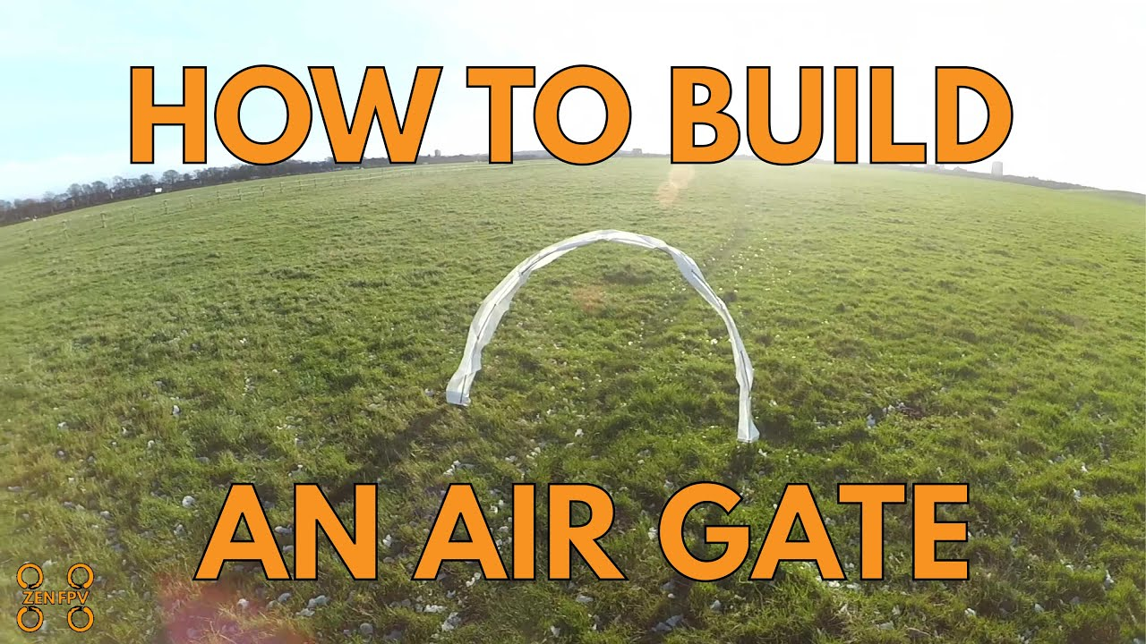 How To Make A Cheap Amp Portable Air Gate For Fpv Drone