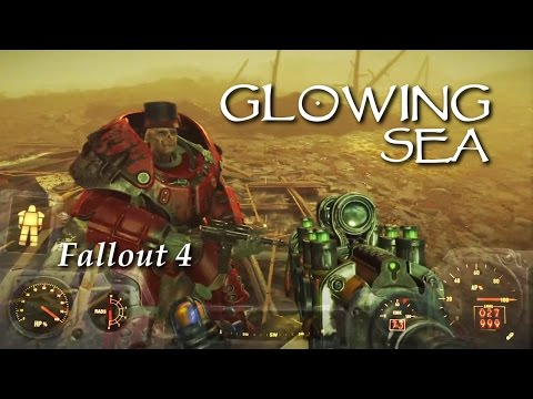 Jewelsmith plays Fallout 4 - Exploring the Glowing Sea PS4
