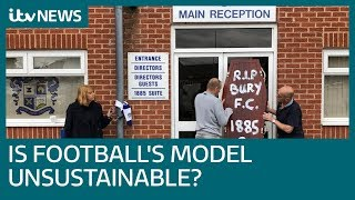 Is the English Football League's model unsustainable?   ITV News