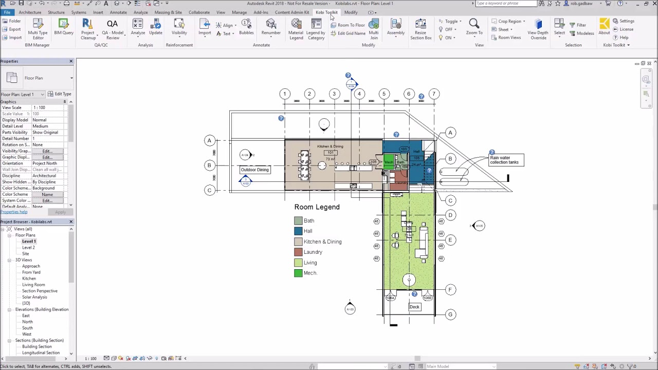 Kobi Toolkit for Revit : Import and Export