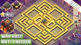 BEST! Clash of Clans Town Hall 10 (Th10) War Base 2018 Anti 2/3 Star | Anti LAVALOON, Bowler, Miner