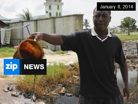 Shell Agrees To Oil Spill Compensation - Jan 8, 2015