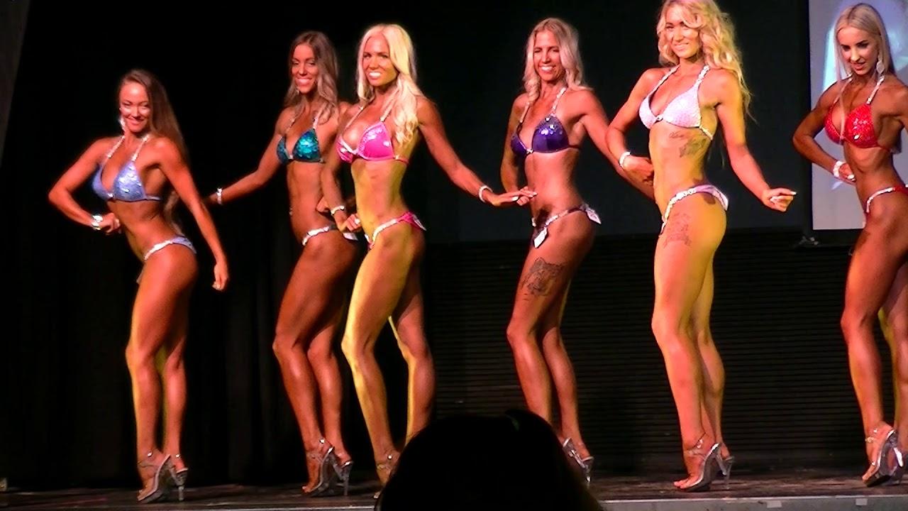 competitive bodybuilding division Bikini