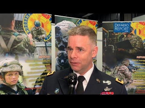 US Army's Francis On Future Army Aviation Operating Concepts & Sustainment, FARA Capabilities