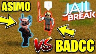 ASIMO3089 VS BADCC!! (Badcc Takes Ls) | MyUsernamesThis | Roblox Jailbreak