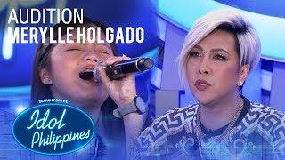 Merylle Holgado - Di Na Muli   Idol Philippines Auditions 2019
