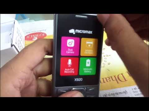 MICROMAX X920 UNBOXING