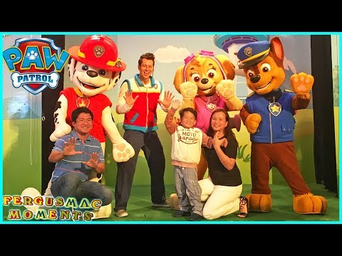 Paw Patrol Meet and Greet with Marshall Ryder Skye Chase at United Square