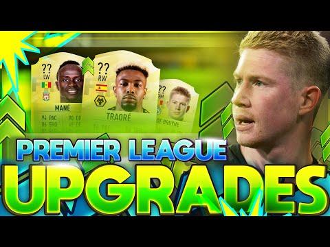 FIFA 21 | 50 PREMIER LEAGUE UPGRADES PREDICTIONS!! FT. TRAORE, DE BRUYNE, MANE ETC(FIFA 21 UPGRADES)