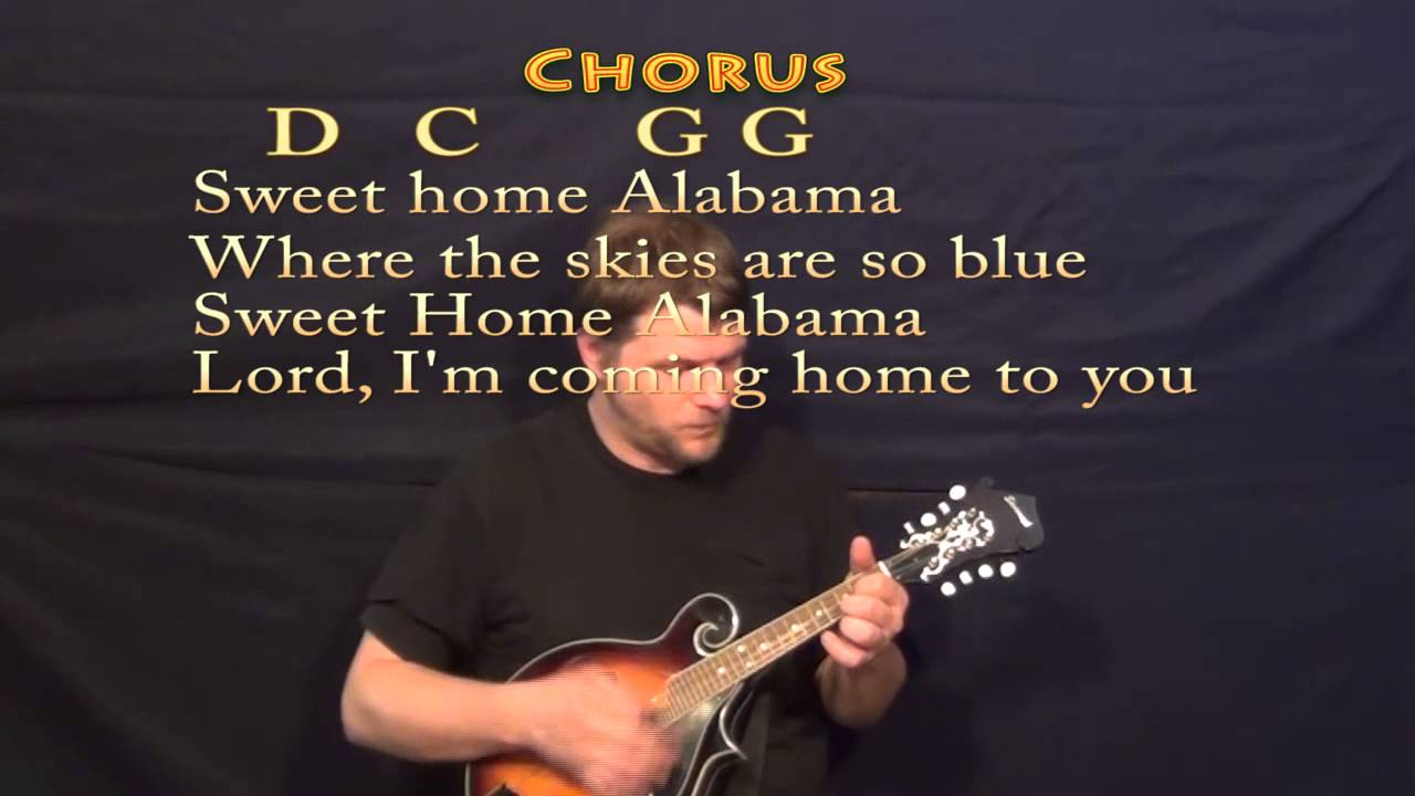 Sweet home alabama mandolin cover lesson with chords lyrics sweet home alabama mandolin cover lesson with chords lyrics hexwebz Choice Image