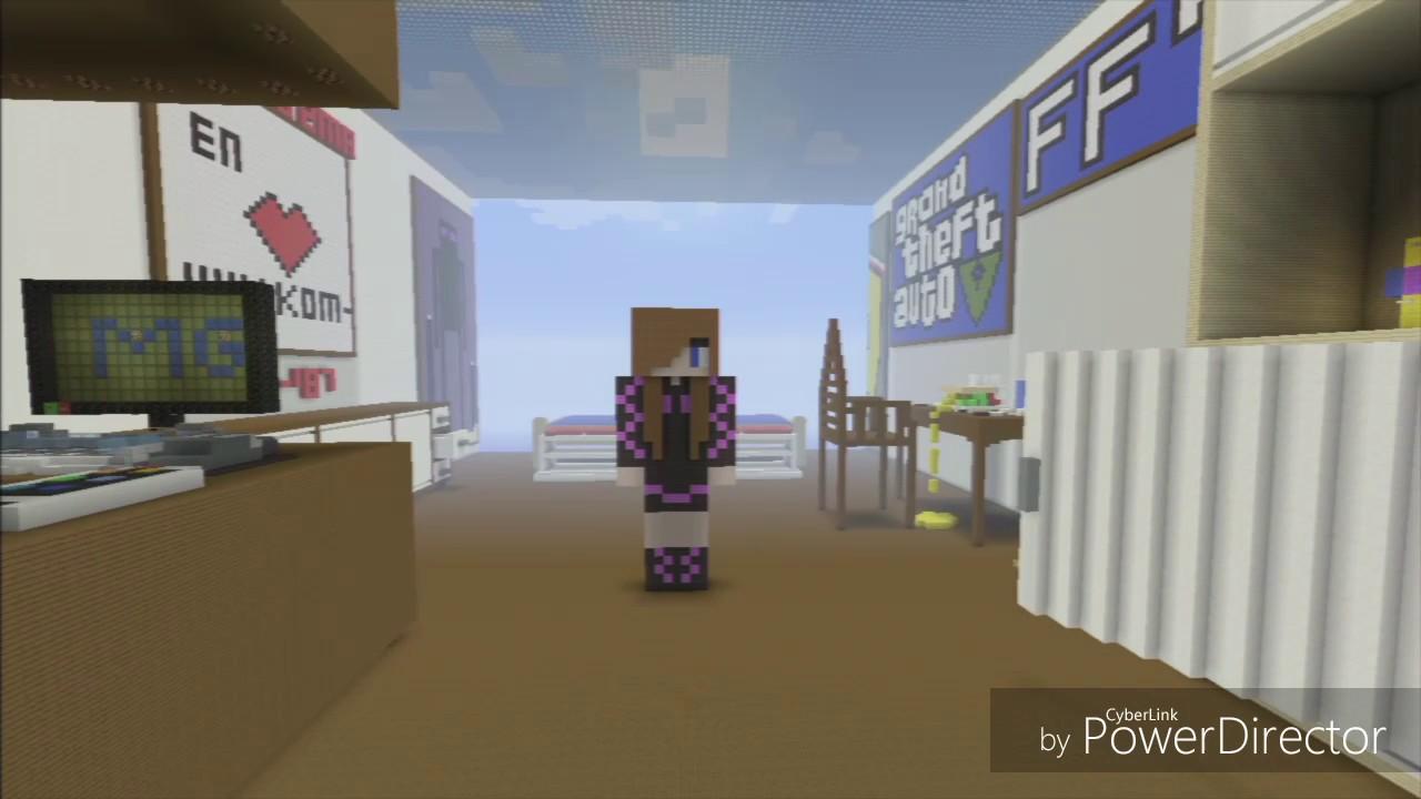 Zockerzimmer einrichten  Minecraft # Zockerzimmer ist zu Ende :) - YouTube
