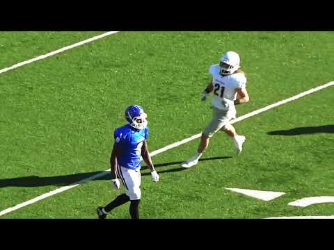 Cam Wyche Freshman Wide Receiver Football Highlights at Lindsey Wilson College
