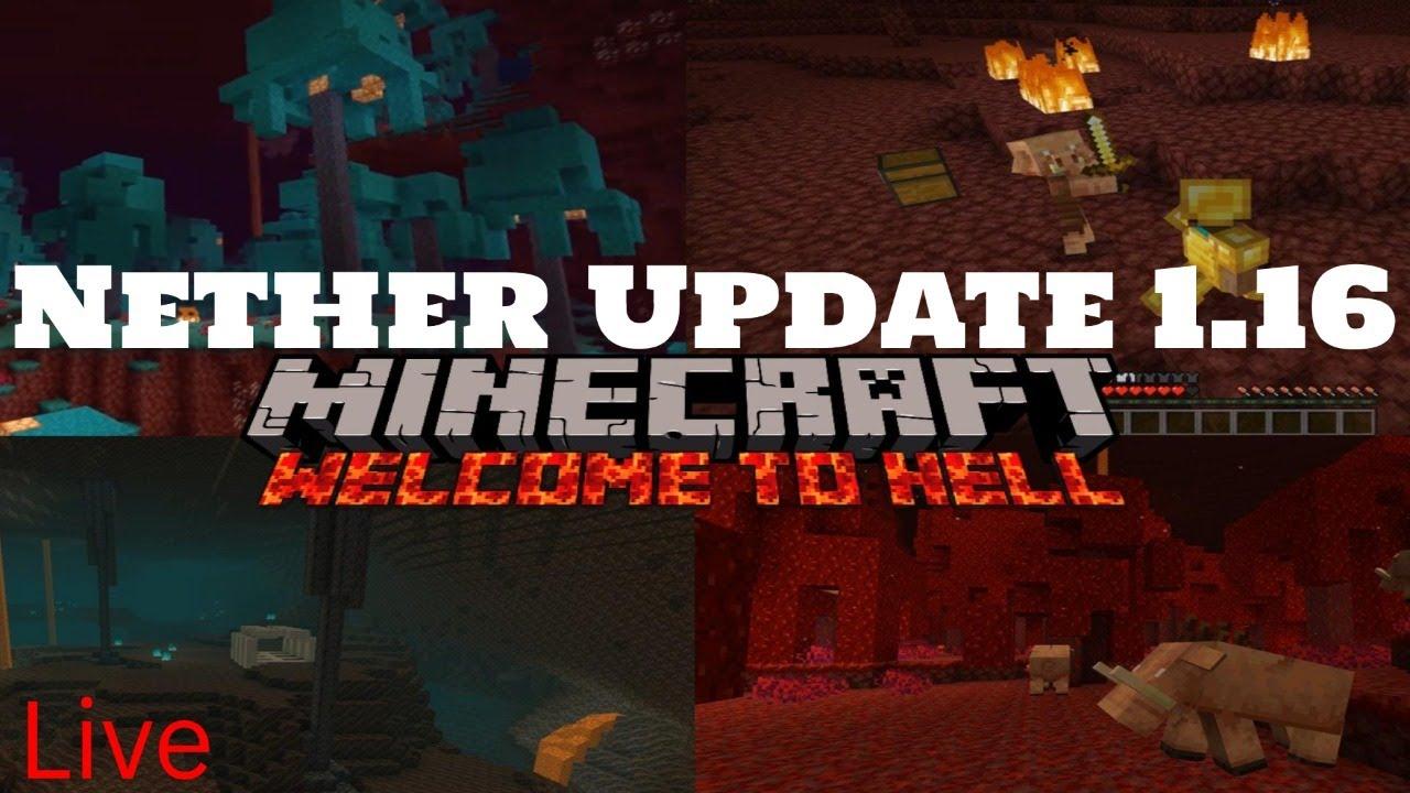 Minecraft Nether Update (12.126) June-12, - YouTube