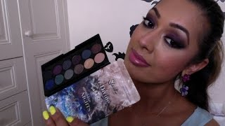 Sleek MakeUP Arabian Nights Smoke & Shadows eyeshadow palette review/swatches