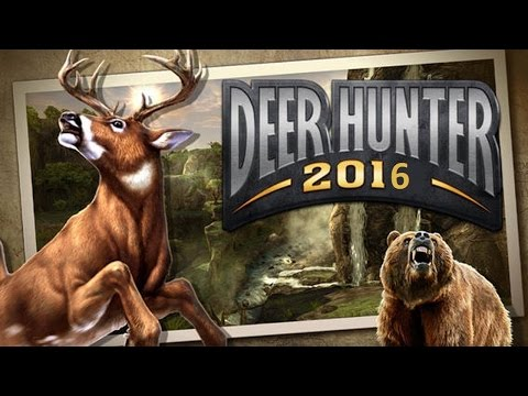 Deer Hunter 2016- By Glu Games Inc -iPhone, iPad, iPod touch,Samsung tablet