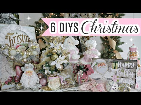 "🎄6 DIY DOLLAR TREE CHRISTMAS DECOR CRAFTS 2019🎄""I Love Christmas""ep.17 .Olivia's Romantic Home DIY"