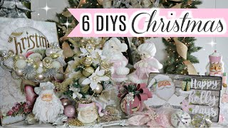 🎄6 DIY DOLLAR TREE CHRISTMAS DECOR CRAFTS 2019🎄