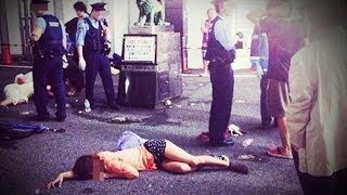 Japanese Girls Mysteriously Pass Out in the Street?!!