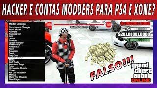 Hackers e contas mods para PS4 E XBOX ONE no GTA 5 ONLINE ? FALSO !!!