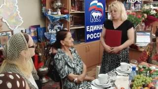 В библиотеке имени Фазу Алиевой отметили юбилей почетного гражданина Каспийска – Айшат Мусанабиевой