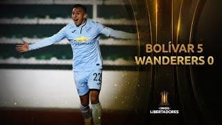 Bolívar vs. M. Wanderers [5-0] | RESUMEN | Fase 2 | CONMEBOL Libertadores 2021