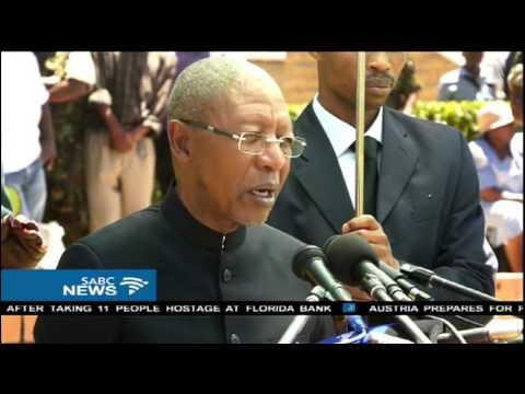 Lesotho army commander retires