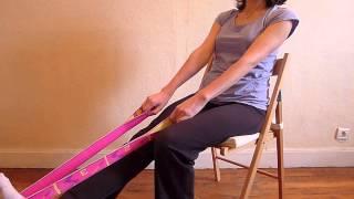 упражнения для колена видео
