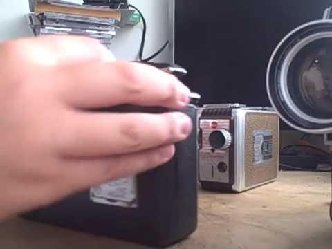 16mm camera: Magazine cine Kodak