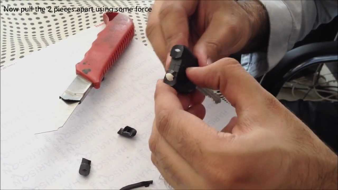 Extract Sensor From Suzuki Key Youtube