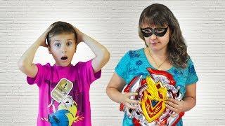Мама ПОХИТИЛА НОВУЮ ИГРУШКУ? Что задумал СЕРЕЖА? Видео для детей // video for kids