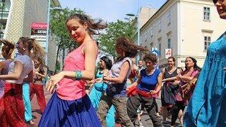 4th Bollywood Flashmob Vienna: Mia