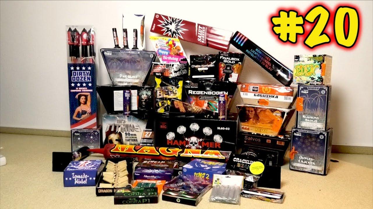 Spaß am Silvester Tag #20 [DAS MEGA FINALE] | Feuerwerksmischung 🔥🔥🔥