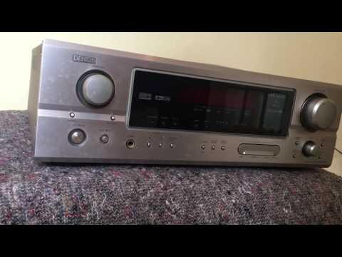 How to reset the Denon AVR-1906 receiver amplifier