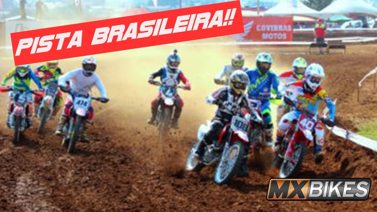MX BIKES - Campeonato Brasileiro 250cc - Segunda etapa em pista brasileira - AVM Motocross