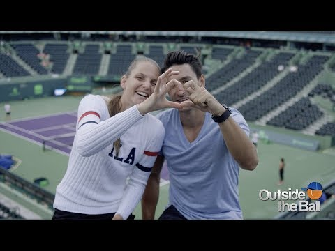 Q&A With Newlyweds Karolina Pliskova and Michal Hrdlicka